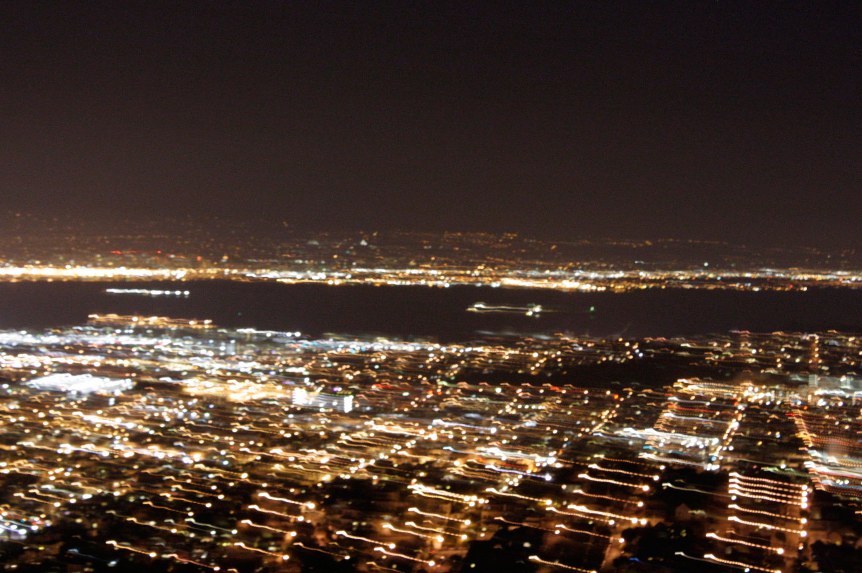 San Francisco long exposure twin peaks