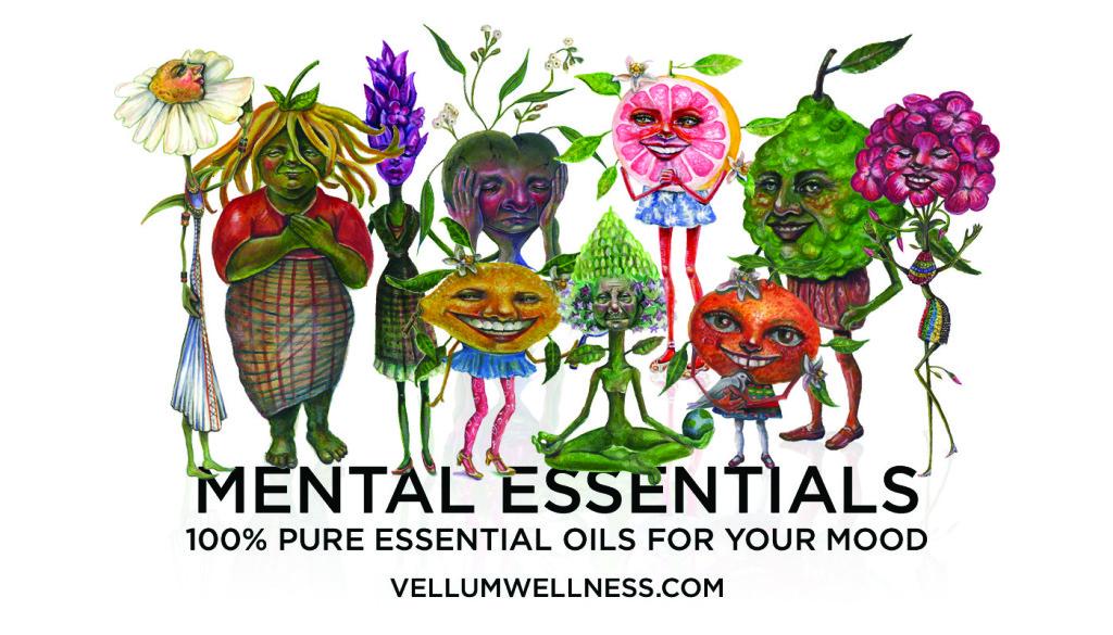 The Screen Girls Work on Vellum Wellness and present Mental Essentails