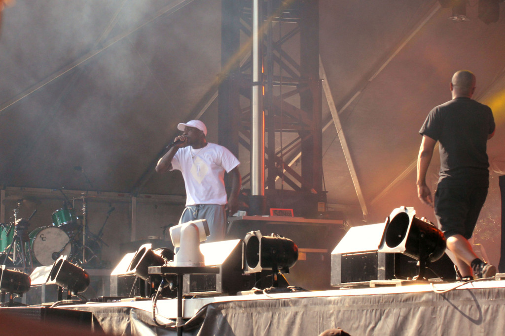 Skepta at Osheaga